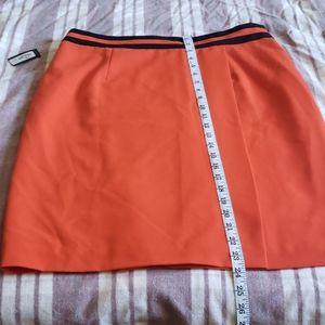 Red Worthington Skirt